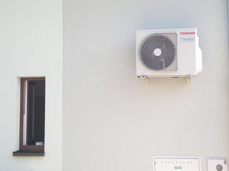 klimatizácia, vnútorná a vonkajšia jednotka, split, klimatizéri